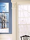 Horloge murale pittoresque de style moderne en toile 3pcs k0141