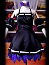 Inspire par Vocaloid Hagane Miku Video Jeu Costumes de cosplay Costumes Cosplay Mosaique Noir Top