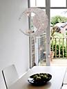 Hängande lampor ,  Modern Glob Elektropläterad Särdrag for Ministil MetallVardagsrum Dining Room Skaka pennan och tryck på spetsen innan
