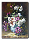 HANDMÅLAD Stilleben En panel Kanvas Hang målad oljemålning For Hem-dekoration