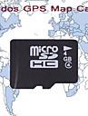 tarjeta de felicitaciones mapa del GPS, con la tarjeta de 4GB TF