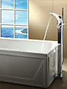 Robinets de Baignoire Sprinkle®  ,  Moderne  with  Chrome 1 poignee 1 trou  ,  Fonctionnalite  for Centerset