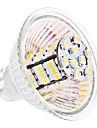 4W GU5.3(MR16) LED-lampa MR16 54 SMD 3528 260 lm Varmvit / Kallvit DC 12 V