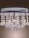 Max20W Flush Mount ,  Modern/Contemporary Chrome Feature for Crystal Metal Bedroom