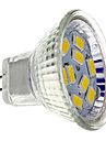 4W GU4(MR11) Spot LED MR11 9 SMD 5730 430 lm Blanc Chaud DC 12 V
