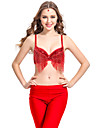 Dancewear Polyester With Tassel Performance Top for Ladies More Colors