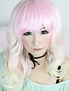 Perruques de lolita Doux Princesse Moyen Blanc / Incanardin Perruques de Lolita 55 CM Perruques de Cosplay Mosaique Perruque Pour Femme