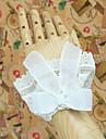Accessoires de Lolita Lolita Classique/Traditionnelle Lolita Princesse Blanc Accessoires Lolita  MancheNoeud papillon Dentelle Couleur