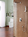 Personalized Shower Faucet set Contemporary Style shower faucet with 8 inch Shower head+Hand Spray