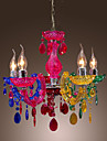 Max 40W Chandelier ,  Traditional/Classic Chrome Feature for Crystal Acrylic Living Room / Bedroom / Dining Room