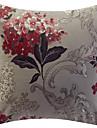 Traditionell Floral Jacquard dekorativ örngott