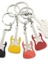 Personalized Guitar Key Ring - Set of 6 (More Colors)