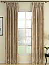 TWOPAGES® Two Panels  Embroidery Polyester Room Darkening Thermal Curtains Drapes