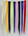 Chaleur perruque résistants 60cm Extensions de cheveux de haute qualité (1 pièce)