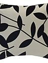 1 pcs Polyester Housse de coussin,Fleur Rustique