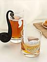 filtru lebădă ceai linguriță formă (culoare aleatorii)