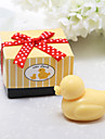 Cute Baby Duck Soap Wedding Favor In Gift Box
