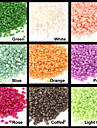 200PCS Bebe perle Nail Art Decoration strass 2mm (couleurs assorties)