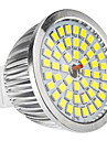 6W GU5.3(MR16) LED-spotlights MR16 48 SMD 2835 650 LM Naturlig vit DC 12 AC 12 V
