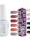 YeManNvYou®1PCS Sequins UV Color Gel Nail Polish No.277-288 Soak-off(15ml,Assorted Colors)