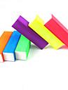 1pcs bloc tampon de couleur de sucrerie lumineux (couleur aleatoire)
