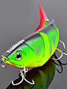 "1 pcs Hard Bait / Minnow / Fishing Lures Hard Bait / Minnow Green / Orange / Yellow / Blue 10 g/3/8 oz. Ounce,80 mm/3-1/4"" inch,Hard"