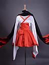 Inspirat de Inu x BOKU SS Ririchiyo Shirakiin Anime Costume Cosplay Costume Cosplay Kimono Peteci Manșon LungFustă Centură Kimono Coat