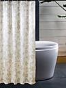 Polyester epais impermeable bain Rideau de douche