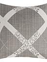 Polyester Housse de coussin , Geometrique Traditionnel