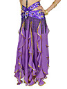 Dancewear Polyester With Sequins & Rhinestone Belly Dance Outfits for Ladies