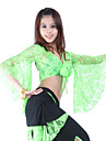 Belly Dance Tops Women\'s Training Lace 3/4 Length Sleeve