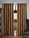 Deux Panneaux Le traitement de fenetre Neoclassique , Solide Polyester Materiel Rideaux occultants rideaux Decoration d\'interieur For