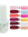 YeManNvYou®Sequins UV Color Gel Nail Polish No.109-120 (5ml, Assorted Colors)