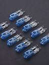G9 40W plätering Blue Halogen glödlampa (10st)