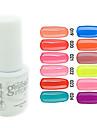 YeManNvYou®Sequins UV Color Gel Nail Polish No.13-24 (5ml, Assorted Colors)