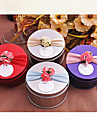50 Piece/Set Favor Holder - Cylinder Metal Favor Tins and Pails/Favor Boxes Non-personalised