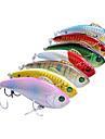 1 st Hårt bete / Vibration / Fiskbete Vibration / Hårt bete Svart / Grön / Rosa / Gul / Guld / Röd / Blå / Blandade färger g Uns mm tum,
