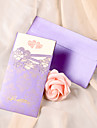 Personalized Romantic Double Hearts Wedding Invitation-Set of 50