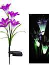 Färgskiftande Solar Light Dekorativa Garden Solar Lily Flower Lights (CIS-58263B)