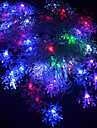 20-LED 4M Vattentät EU Plug Outdoor Christmas Holiday dekoration blomma RGB Ljus LED String Light (220V)