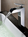 Sprinkle® Sink Faucets  ,  Countertop  with  Chrome Single Handle One Hole  ,  Feature  for Waterfall / Centerset
