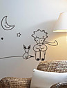 Tecknad The Little Prince Wall Stickers