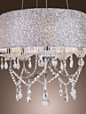 Modern Dazzling 5 Lights Chandelier With Crystal