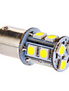 BAY15D/1157 3W 13x5050SMD 117LM 6000-7000K Ampoule blanche froide LED pour la voiture (12V DC)