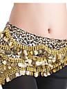 Belly Dance Belt Women\'s Polyester Coins / Sequins Gold Belly Dance / Ballroom Spring, Fall, Winter, Summer
