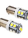 BA9S 1s 10x3528smd 70-90lm 6000k lumiere blanche froide ampoule led (12v) 2pcs