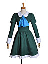 Inspire par Cosplay Mary Video Jeu Costumes de cosplay Costumes Cosplay / Robes Mosaique Vert Manche Longues Robe