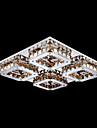 umei ™ a condus cu cristale de culoare montură, 4 lumină, chihlimbar moderne de galvanizare din oțel inoxidabil