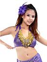 숙녀를위한 댄스웨어 폴리 에스테르 아랫배 춤 정상 (색상 선택)