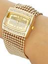 Women\'s Diamante Case Alloy Band Bracelet Watch Cool Watches Unique Watches